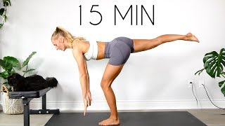 NO EQUIPMENT LOWER BODY WORKOUT (15 min + At Home)
