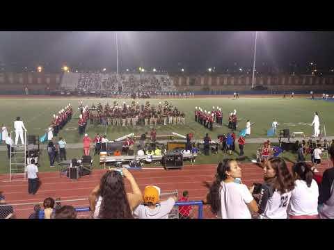 Irvin High school Band Performing Halftime, Ysleta vs. Irvin @ Irvin