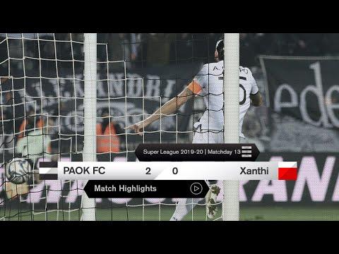 ПАОК  2-0  Ксанти видео