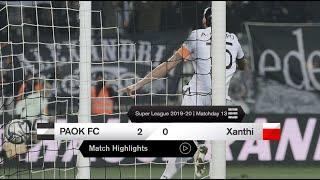 Τα στιγμιότυπα του ΠΑΟΚ-Ξάνθη - PAOK TV