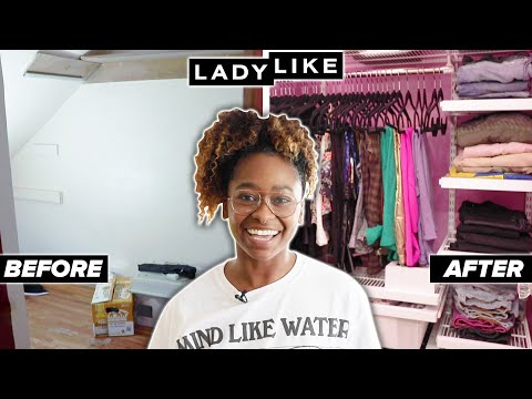 Freddie Gets An Extreme Closet Makeover  Moving Series: Part 3  Ladylike