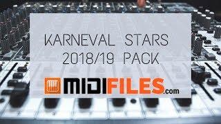 🎼 PRO. MIDI FILE : Karneval Stars 2018/19 (20 MIDI files PACK)