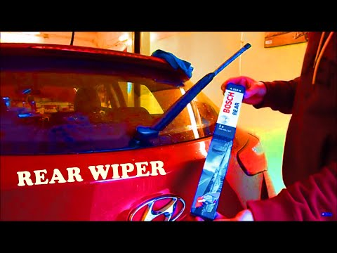 Hyundai I30 - How To Change The Rear Wiper