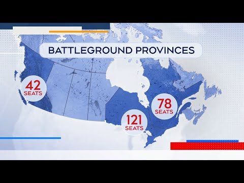A look at the key battlegrounds to watch across Canada