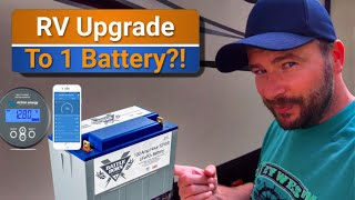 RV Mods: Is it worth getting just a single lithium battleborn battery?