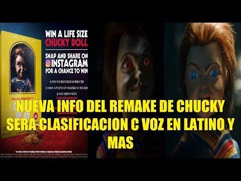 Nueva Info del Remake de Chucky Sera Clasificacion C Confirmada Voz en Latino y Mas!