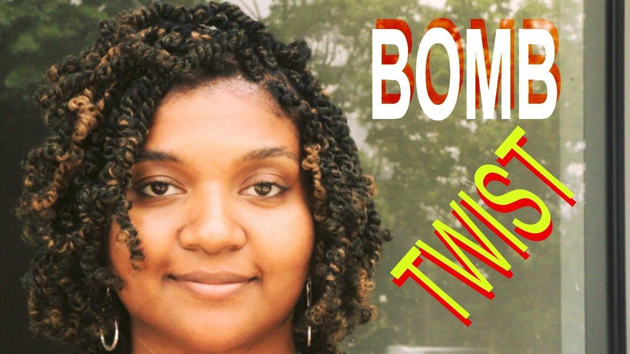Bomb Twist Spring Twist Kinky Twist Afro Puffy Twist