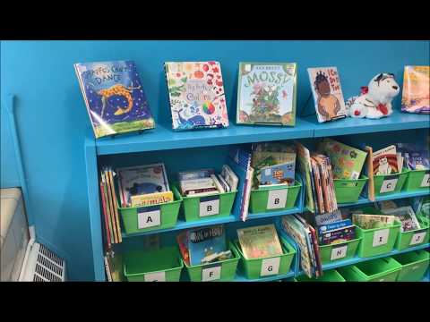Johnson Early Childhood Center opens library