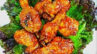 Korean Fried Chicken (yangnyeom Tongdak) Caribbean Style.