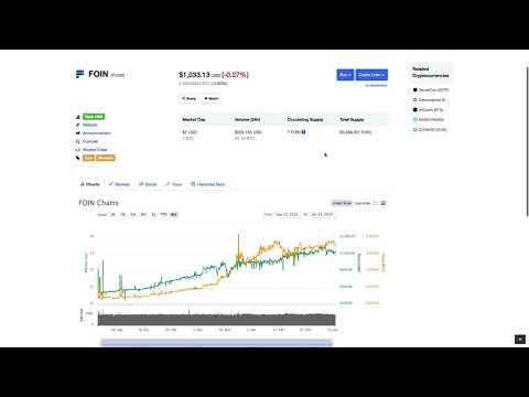 عملة FOIN تستهدف المستثمرين الاماراتيين في دبي - DUBAI CRYPTOCURRENCY