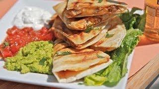 Smoked Chicken Cheese Quesadilla Recipe ~ Cinco De Mayo Baby!!!