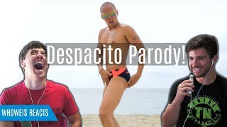 I Wear Speedos | DESPACITO PARODY | Reaction