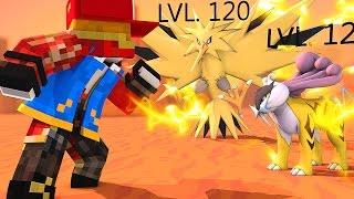 Minecraft : Pokemon Champions 2.0 - BOSS LENDÁRIO #4 ‹ MayconLorenz ›
