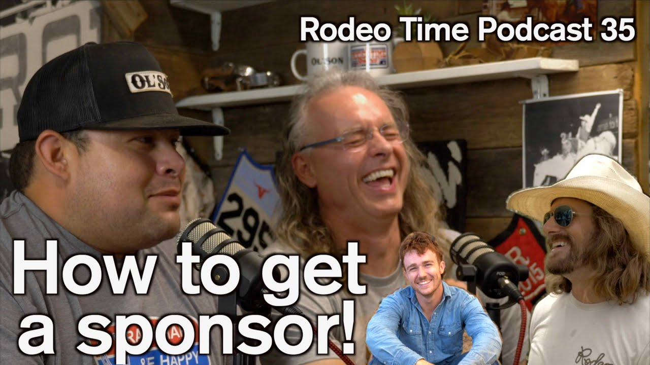 How to get a sponsor from Total Feeds - Rodeo Time podcast 35
