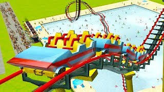 Behold, a Roller Coaster that goes 2,000,000+ MPH - RollerCoaster Tycoon 3