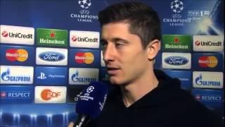 Wywiad z Robertem Lewandowskim Po Meczu BVB - REAL MADRID 2017 Video