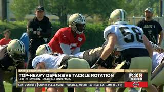 GamePlanTrainingCampSpecial - Saints Training Camp Practice 7- 08/02/2018
