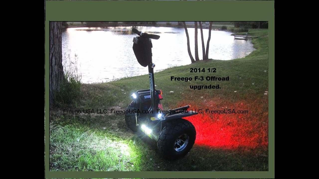 Download The Freego F-3 Self Balancing stand up vehicle uses latest R/C GyroTechnology.