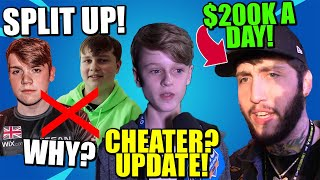 Is This CHEATING Proof of Kquid? Why did Benjy & Mongraal SPLIT? FaZe Banks $200k A day Doing this..