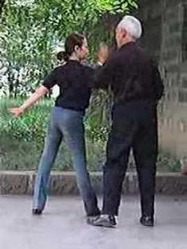 Dancing in Renmin Park, Chengdu, China