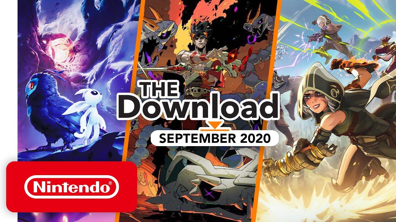 The Download - September 2020 - Super Mario 3D All-Stars, Hades & More! - Nintendo