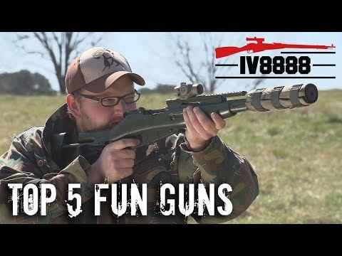 Top 5 Fun Guns Just Because