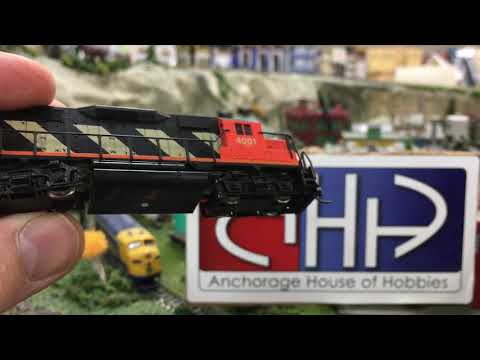 Cleaning your model railroad locomotive