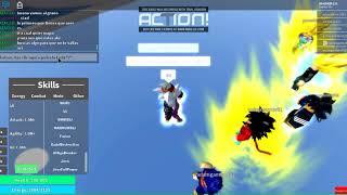 Roblox)how to climb infinite agility in Dragon Ball Fury (x50)