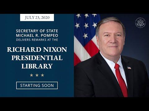 Secretary Pompeo Delivers