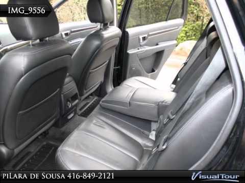 2008 Santa Fe Ltd Awd 3rd Row Seats Loaded Low Km