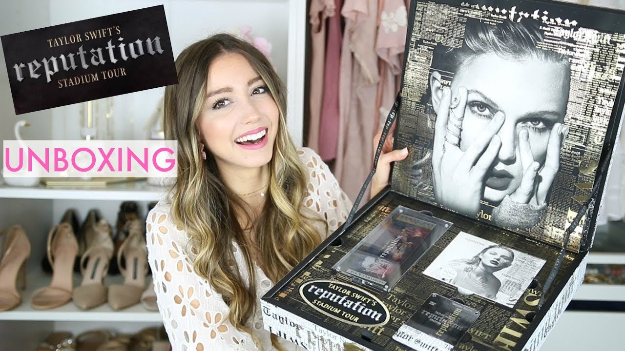 Taylor Swift Reputation Stadium Tour Vip Package Unboxing Youtube