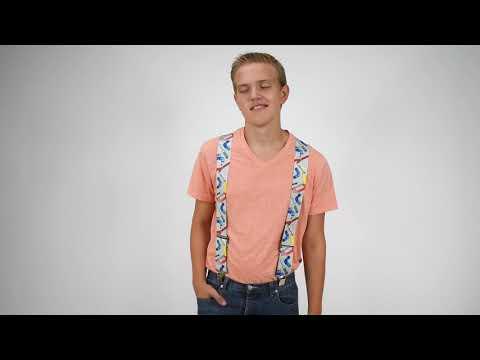 Tradesmen Plumber Clip Suspenders