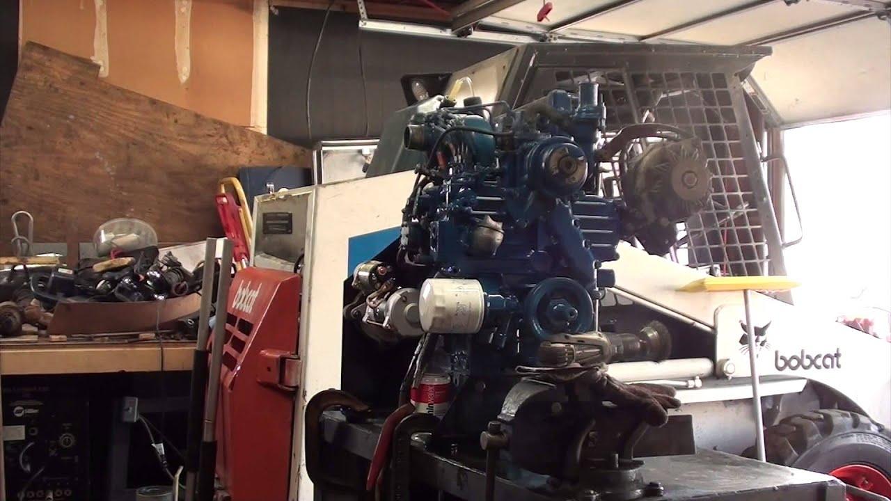Bobcat engine rebuild 8