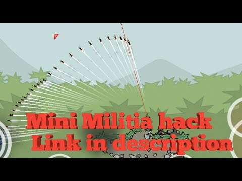 Mini Militia hack v3.0.87 [unlimited boost ,bomb,reload except health]Cutter and rocket launcher mod
