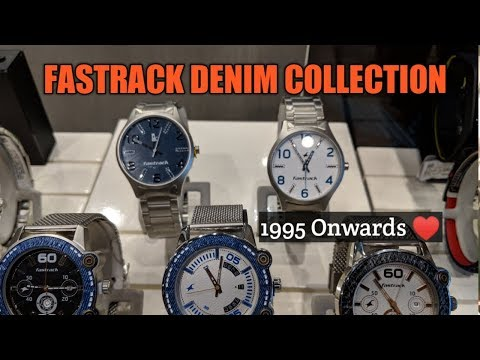 Latest Fastrack Collection || Fastrack Denim Girls/Boys Watches