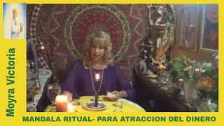 MANDALA RITUAL- PARA ATRACCION DEL DINERO- Moyra Victoria Clarividente