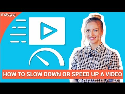 How to change the speed of your video (Slow Motion and Speeded up)