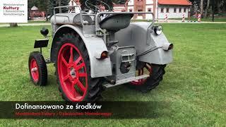 CIĄGNIK -  EICHER ED 16/II w zbiorach Muzeum Rolnictwa w Ciechanowcu