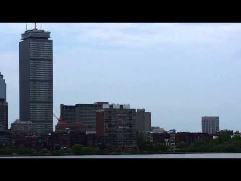 Blue Angels Flying Over Boston (Copley To Fenway To Kendal Sq)