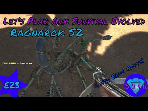 All babies are cute - Ark Survival Evolved with @Endo_Chick   Ragnarok   Modded   Let's Play   S2E23