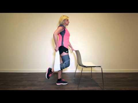 Knee Osteoarthritis Exercise 2/8: Quadriceps Stretch