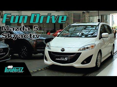 Mazda 5 Skyactiv FUN DRIVE - MPV ala Jinba Ittai   LUGNUTZ Indonesia