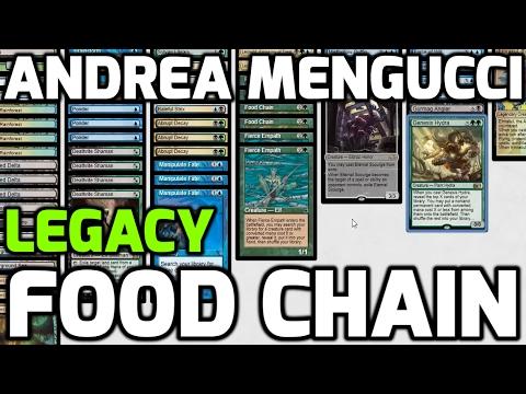 Channel Mengucci - Legacy Food Chain (Deck Tech & Match 1)