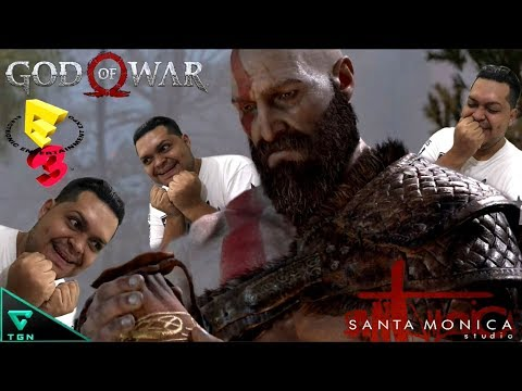 MI VIDEO REACCION AL NUEVO GOD OF WAR E3 2017 | BASILIK FRANCO | VLOG PS4 |