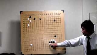 倉橋正行(石の軽重感覚①)なんば囲碁学園
