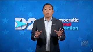 Andrew Yang's 2020 Democratic National Convention Speech | FULL