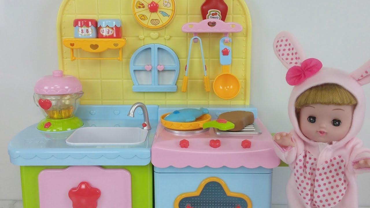 Boneka bayi Dapur mainan kulkas telur kejutan Baby Doll Kitchen toy  refrigerator kinder joy 8f440d95c0