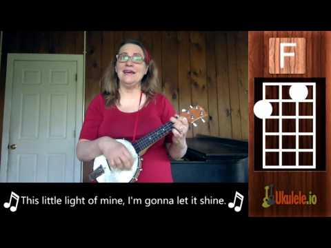 This Little Light of Mine Ukulele Lesson Tutorial - 21 Songs in 6 Days: Learn Ukulele the Easy Way