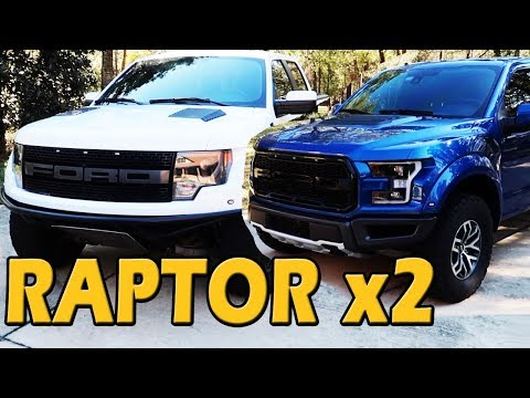 WHICH FORD RAPTOR IS BEST? Gen 1 vs Gen 2 Comparison | Obsessed Garage on Truck Central