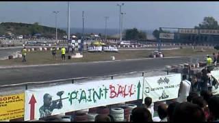 Super drift series Round 4 - Tandem drift Final BMW E36 vs. Nissan Sylvia S14